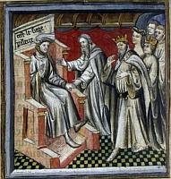 Galaad et le test du Siège Périlleux
