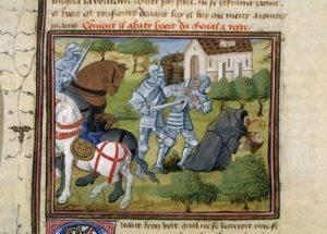 Combat entre Bohort et son frère Lionel