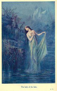 La fée Viviane, la Dame du Lac