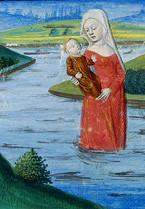 Viviane reccueille Lancelot